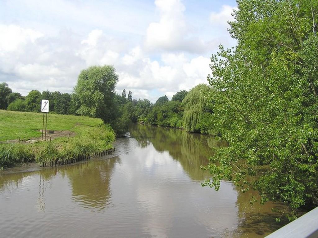 Der Fluss Medem